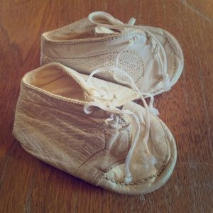 Vintage baby soft shoes